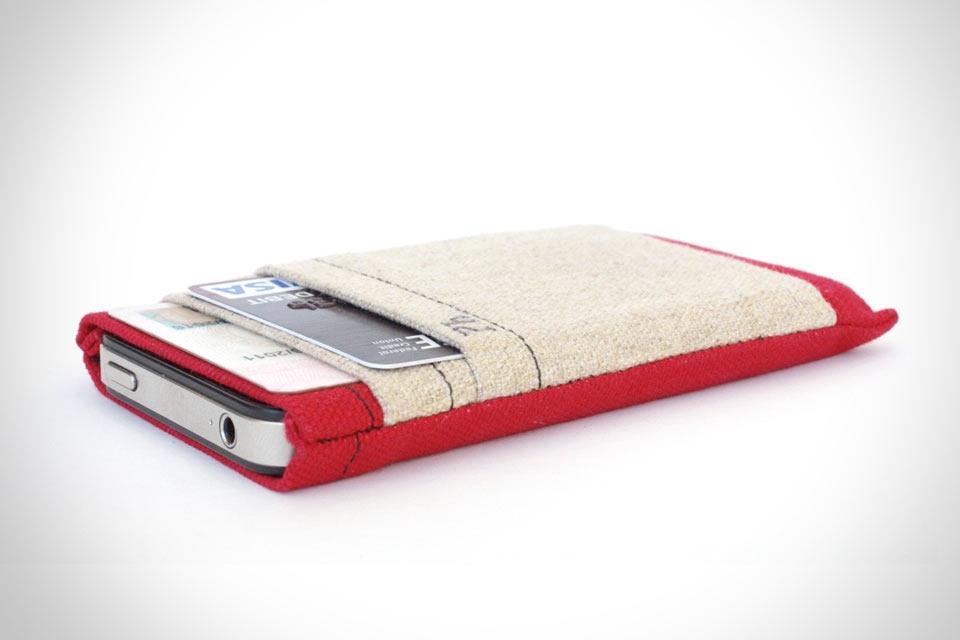 Чехол-кошелек The Phollet для любых смартфонов