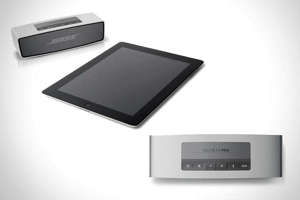Компактная алюминиевая Bluetooth-акустика Bose SoundLink Mini