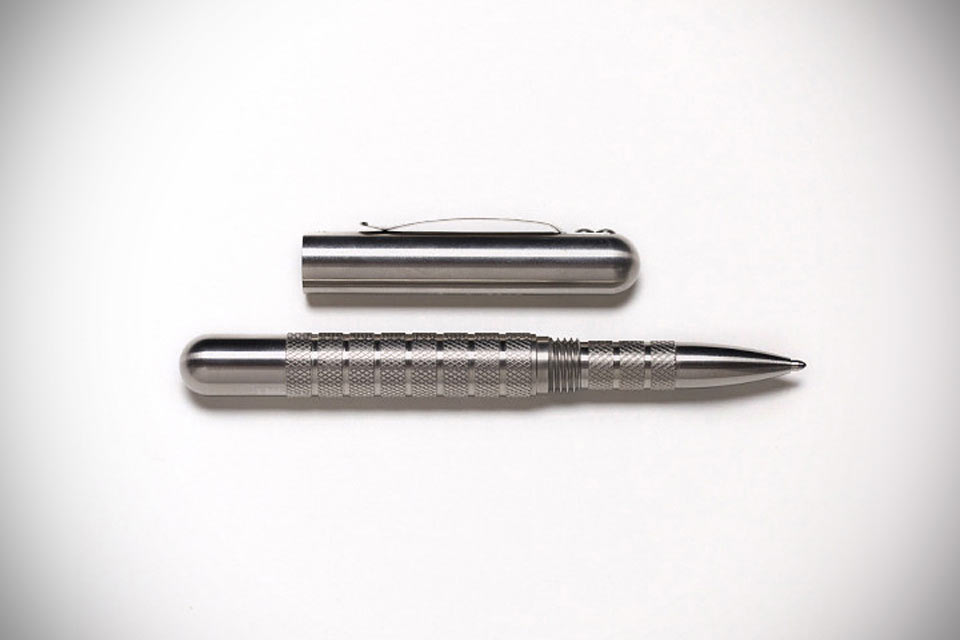 Стальная тактическая ручка Best Made Embassy