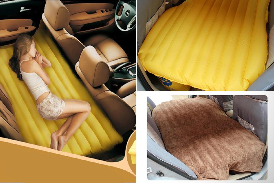 Автомобильный надувной матрац-кровать Fuloon Car Travel PVC Inflatable Bed