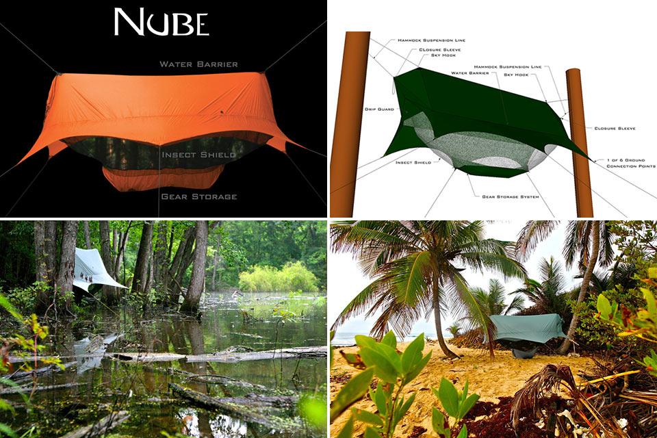 Гамак-палатка Nubé Hammock Shelter