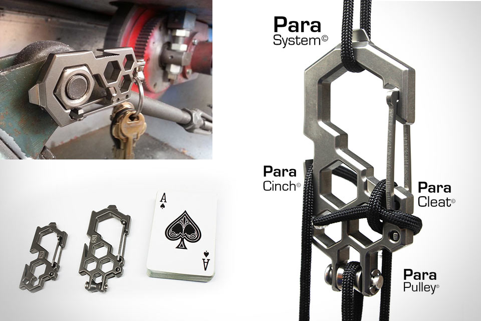 Мультитул Ti2 Para-Biner для работы с гайками и паракордом