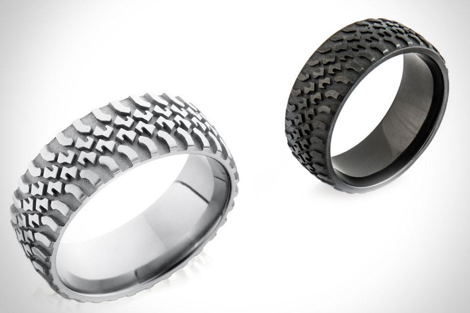 Кольца для водителей Tire Tread
