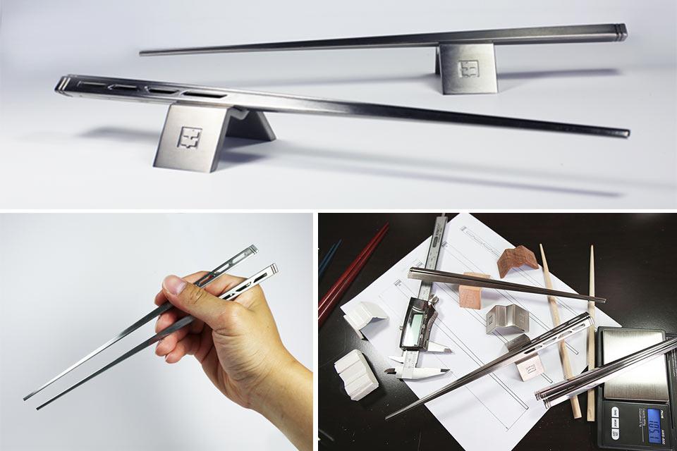 Титановые палочки для еды Aero Ti