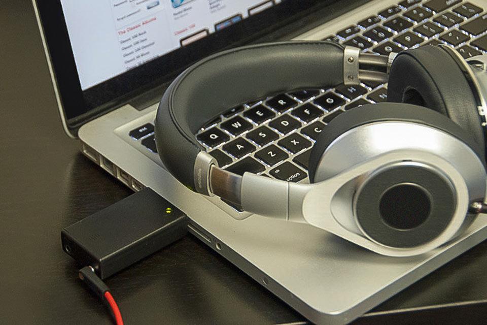 Миниатюрный USB-усилитель Geek для наушников