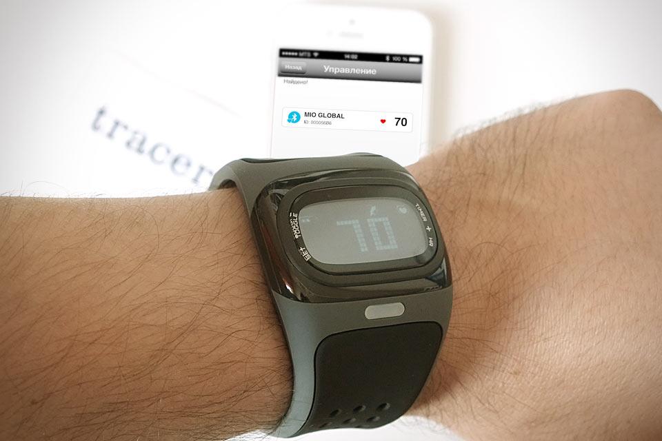 Пульсометр-часы с лазерным датчиком Mio Alpha Heart Rate Monitor