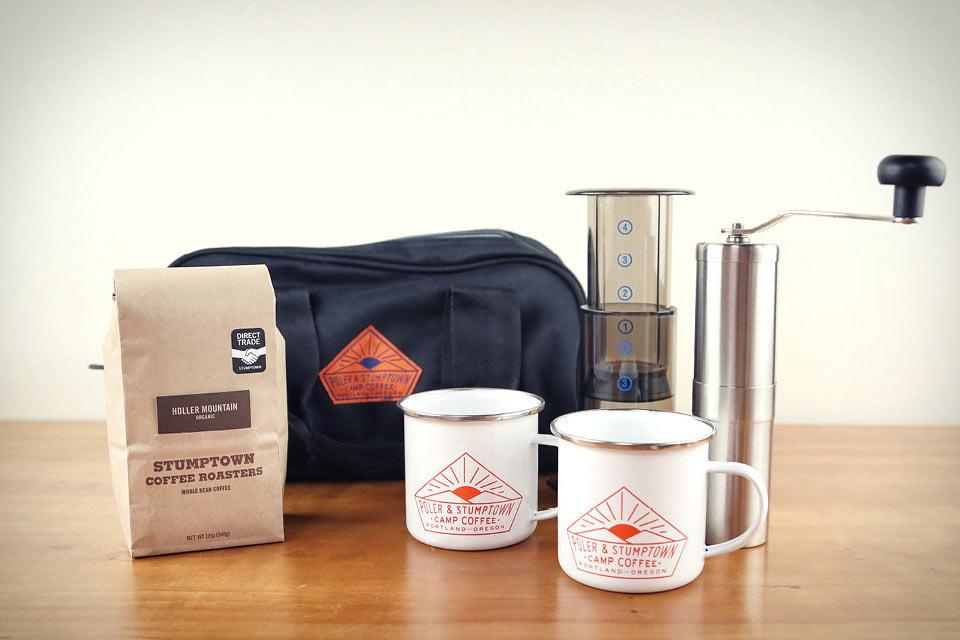 Дорожный набор кофемана Poler x Stumptown Camp