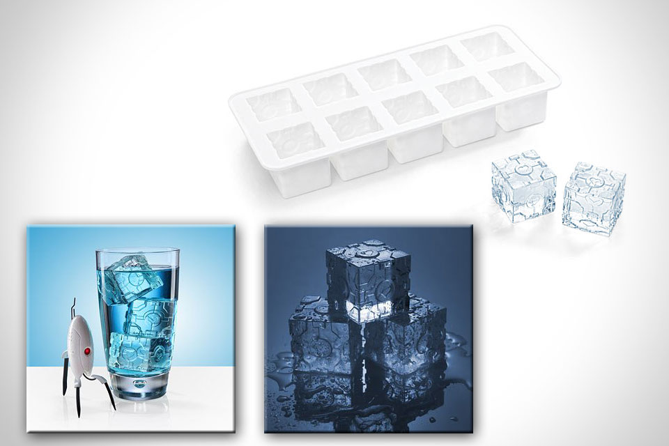 Форма для льда Portal 2 Companion Cube