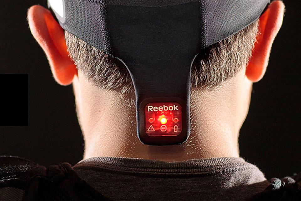 Датчик ударов по голове Reebok Checklight