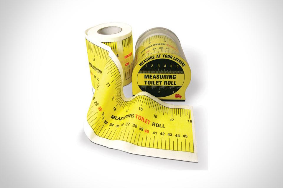Измерительная туалетная бумага Tape Measure