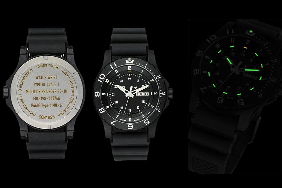 Военные часы Traser P 6600 Type 6 MIL-G с тритиевой подсветкой