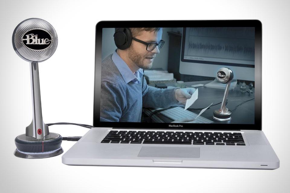 Микрофон Blue Microphones Nessie для записи голоса и подкастов