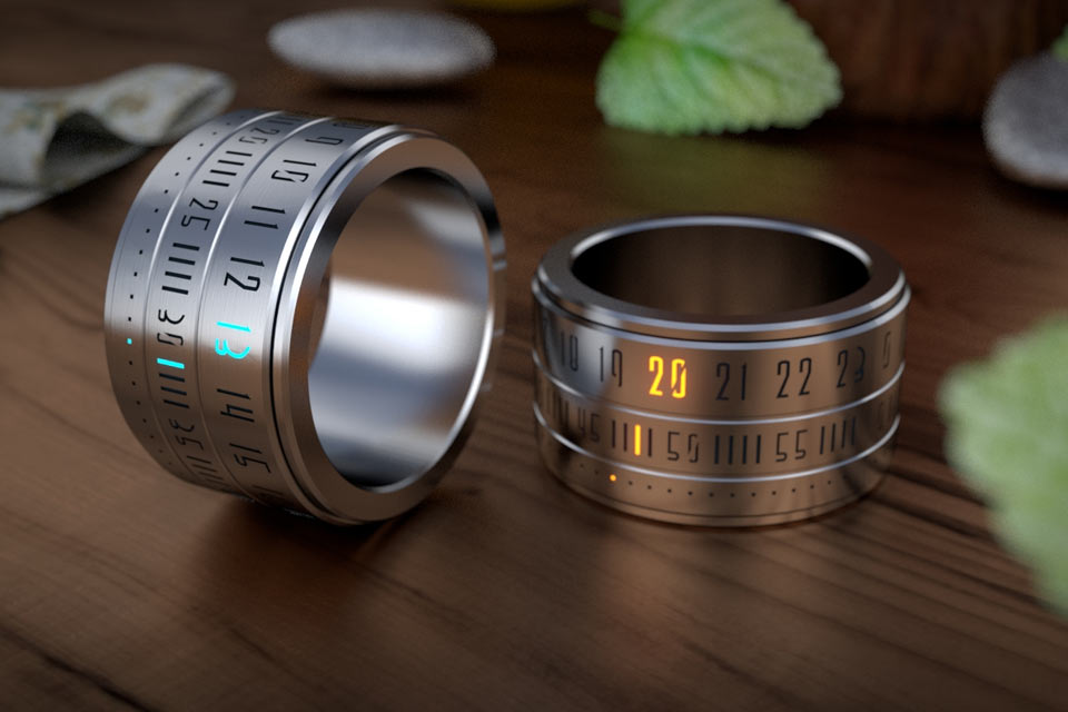 Кольцо-часы Ring Clock. Второй заход в реальность