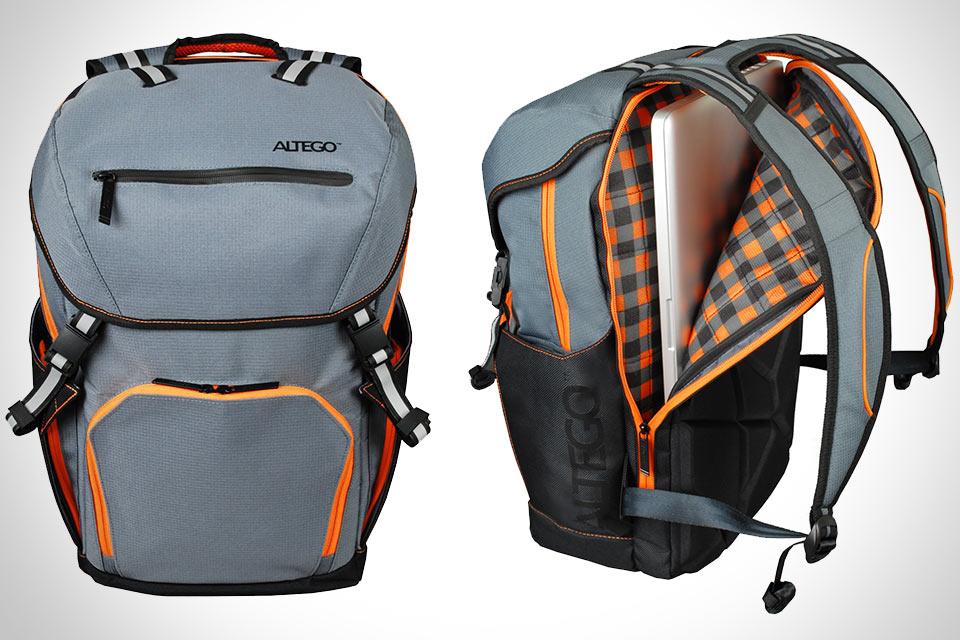 Рюкзак для гаджетов Altego Polygon Sunfire с магнитными пряжками