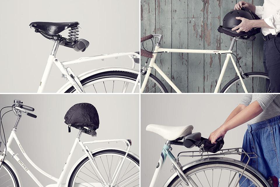 Стационарный велосипедный чехол Helmate для шлема