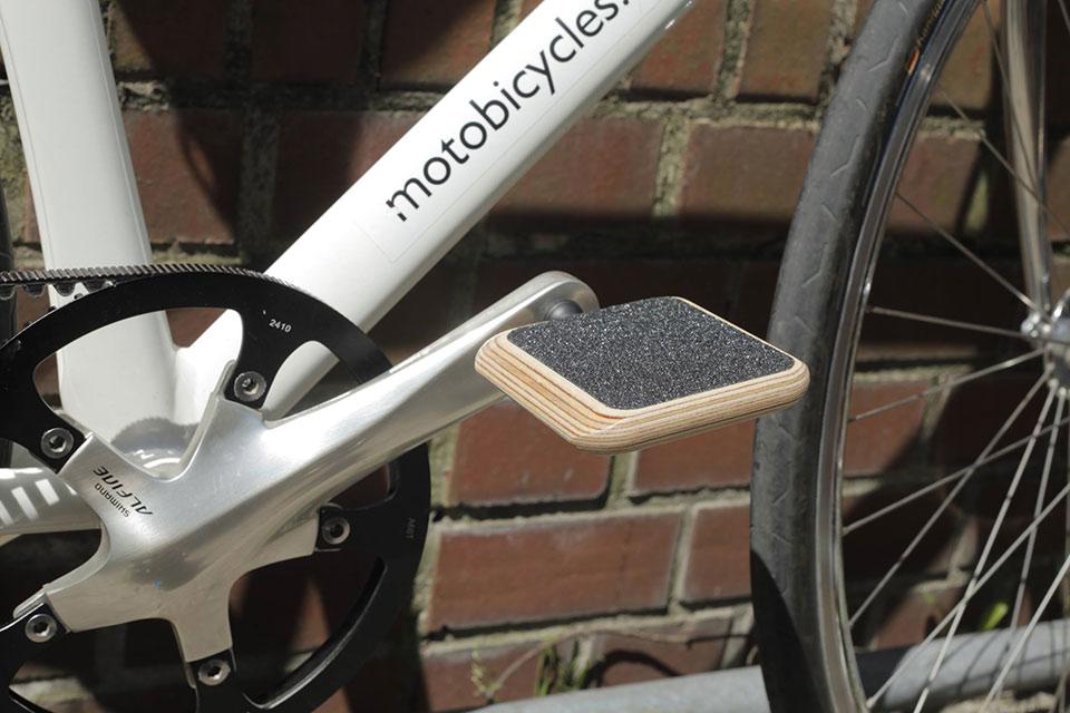 Деревянные велопедали MOTO Urban Pedal