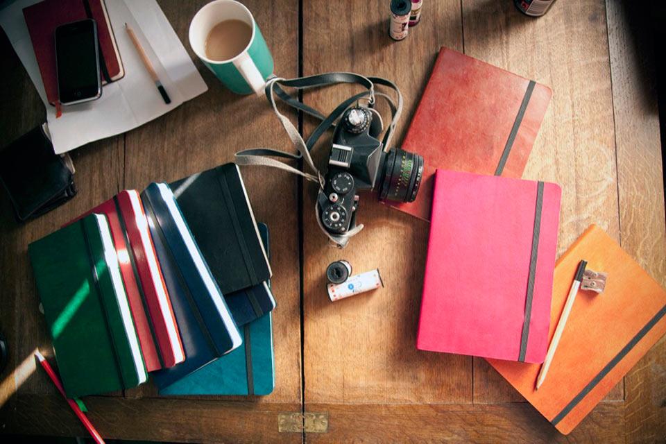 Блокноты Monsieur Notebooks с обложкой из натуральной кожи