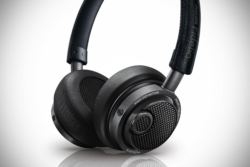 Беспроводные наушники Philips Fidelio M1BT с поддержкой Bluetooth 4.0