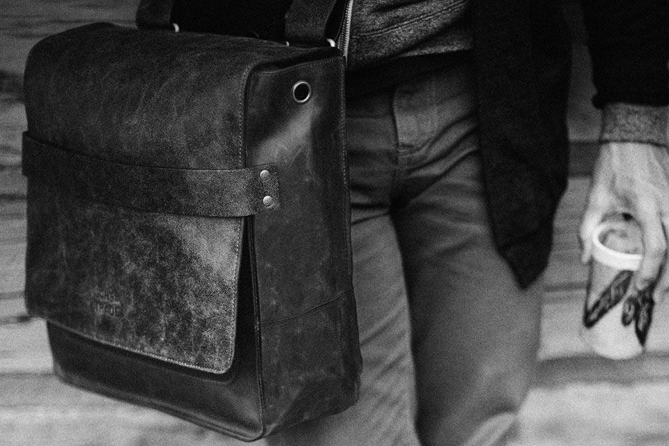 Кожаная наплечная сумка Sons Of Trade Rubicon Rucksack