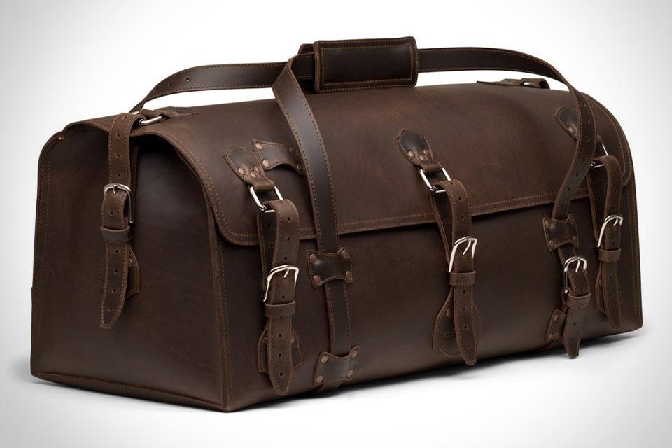 Неубиваемая кожаная сумка для путешествий Saddleback Leather Beast