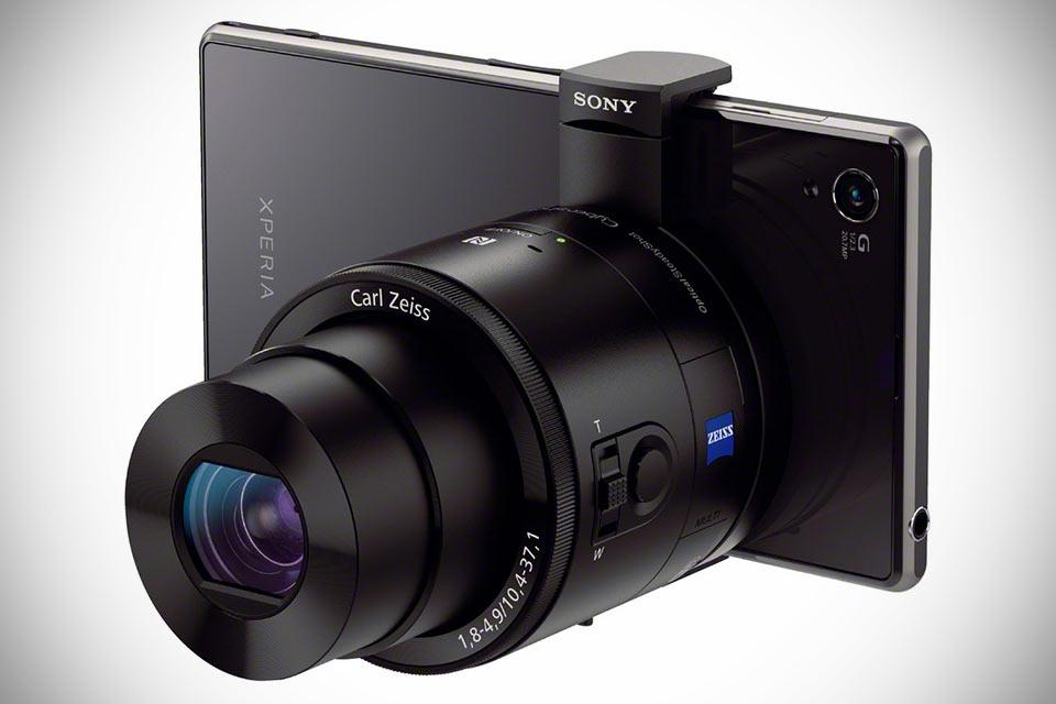 Камеры-объективы Sony DSC-QX10 для смартфонов