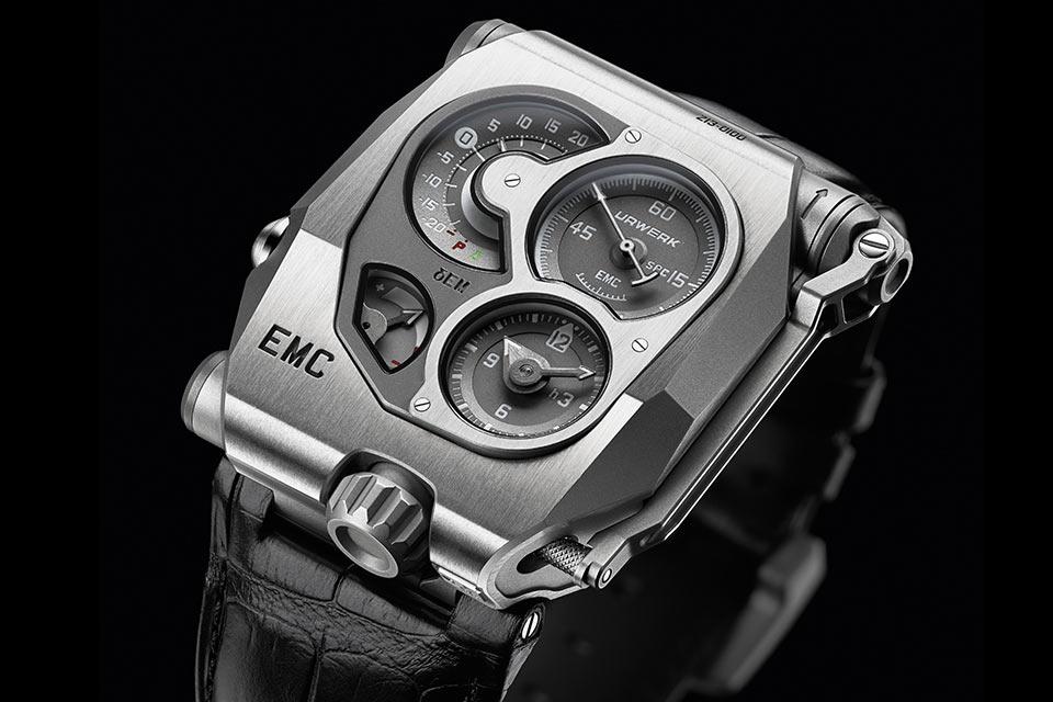 Часы Urwerk EMC с системой мониторинга точности хода