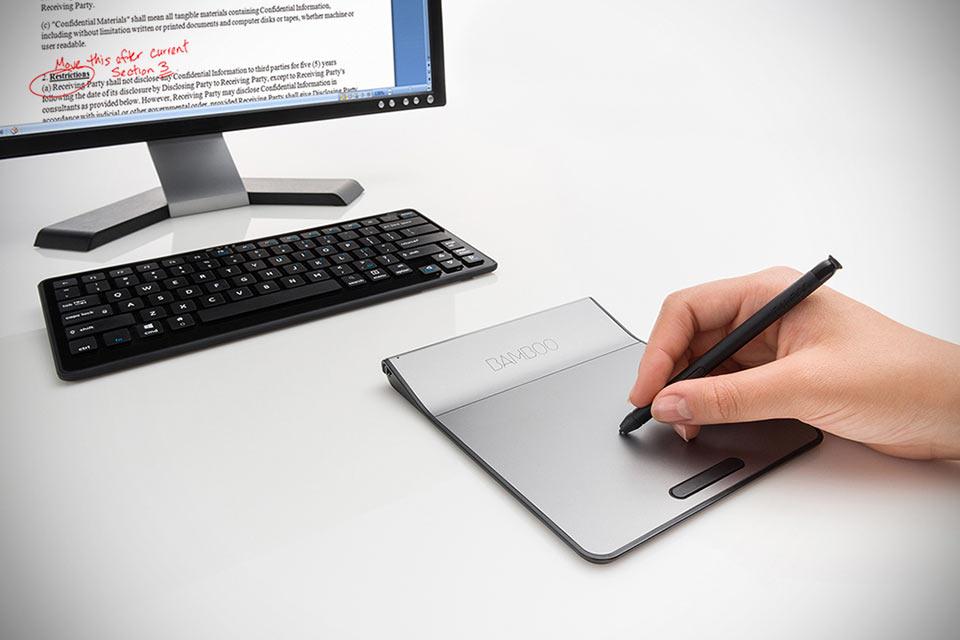 Компьютерный тачпад со стилусом Wacom Bamboo Pad