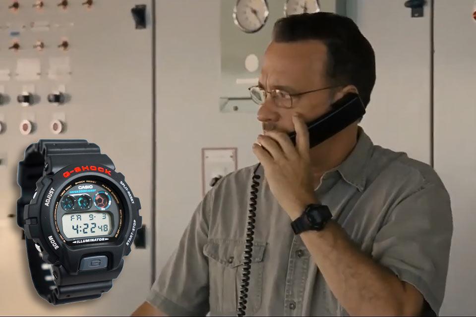 Часы Casio G-Shock DW-6900G, которые носил Том Хэнкс в фильме «Капитан Филлипс»