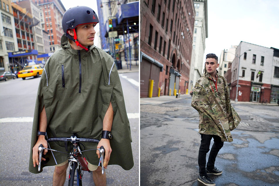 Мембранный дождевик для велосипедиста Cleverhood