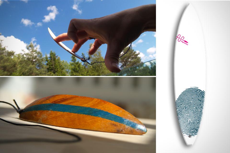 Серфинг-доска для пальцев Fingersurfing