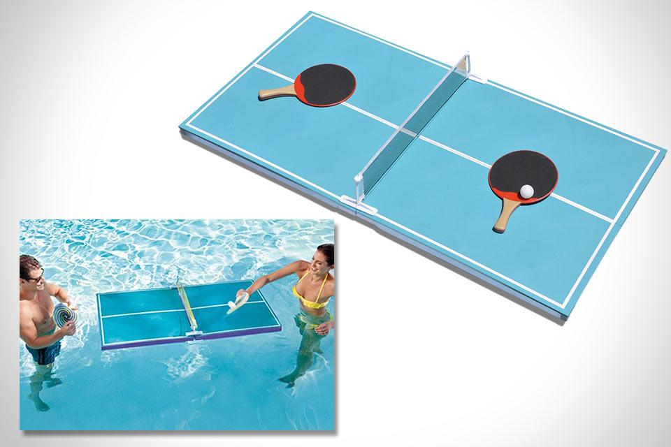Плавучий теннисный стол Floating Pool Pong Table