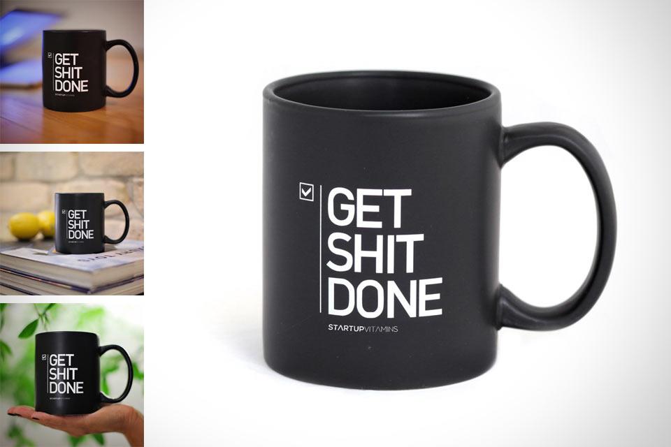 Мотивирующая кружка Get Shit DONE