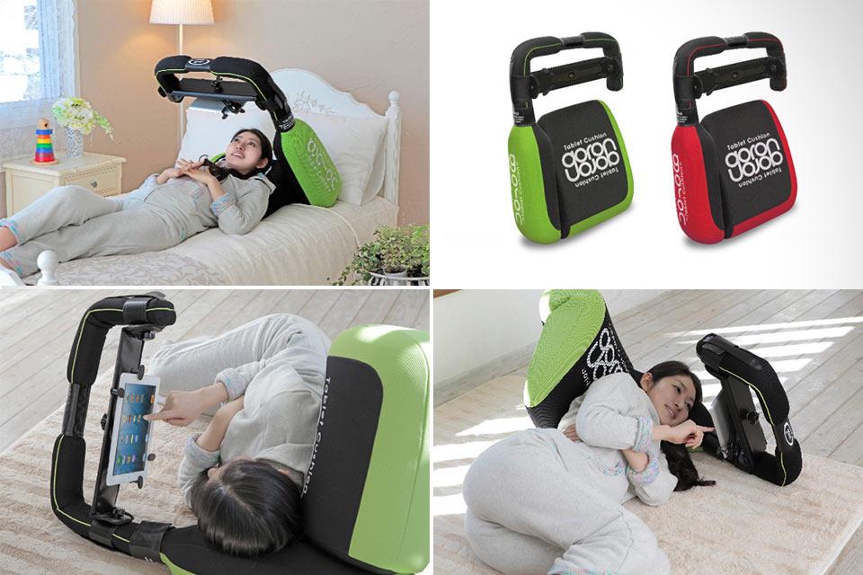 Планшетный держатель-подушка Goron Tablet Cushion для ленивых