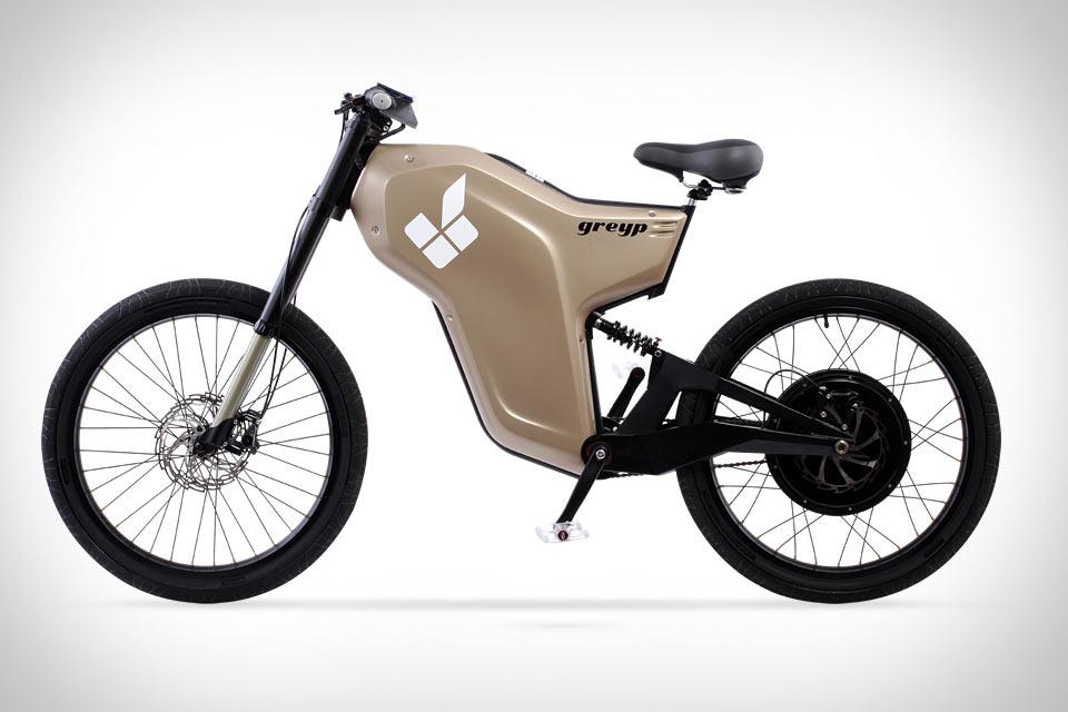 Электроцикл-велосипед Greyp G12