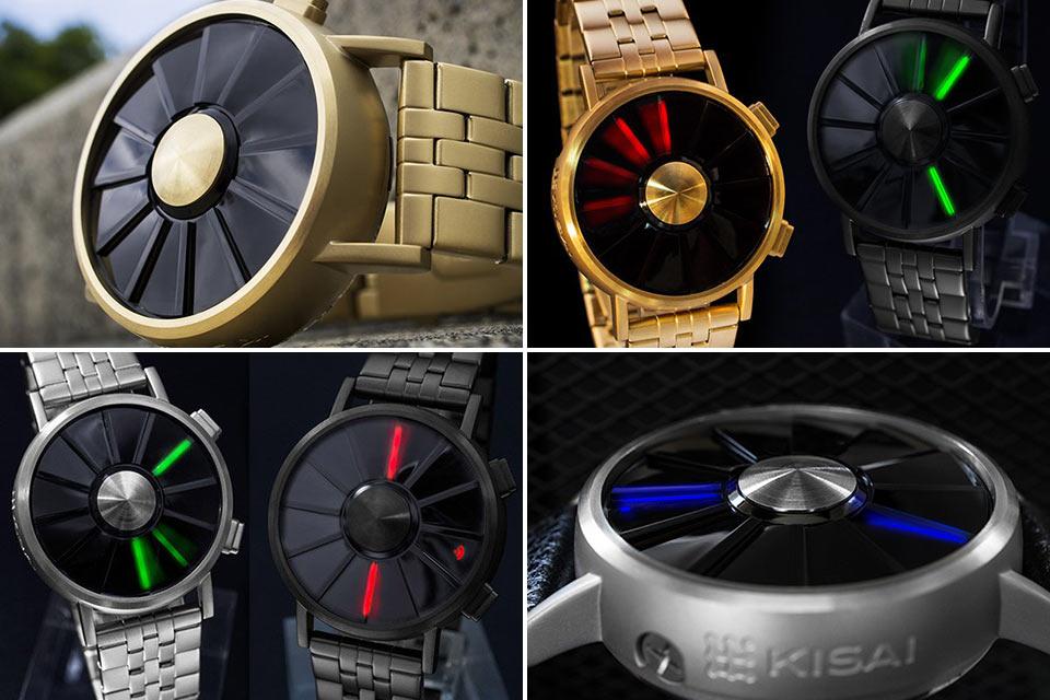 Часы с дисплеем-пропеллером Tokyoflash Kisai Blade