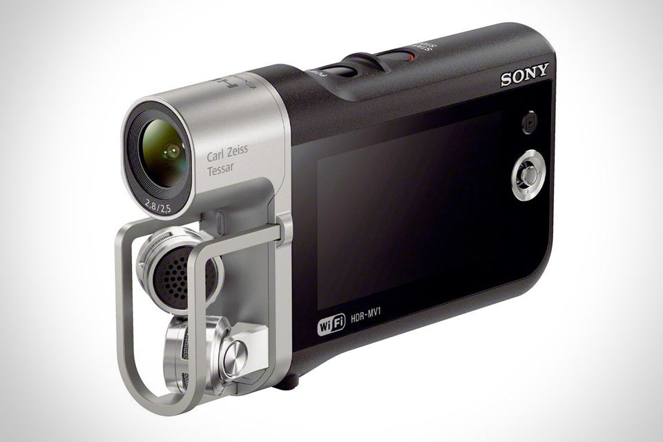Музыкальная видеокамера Sony HDR-MV1