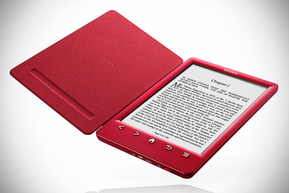 Ридер Sony Reader PRS-T3 со встроенной обложкой
