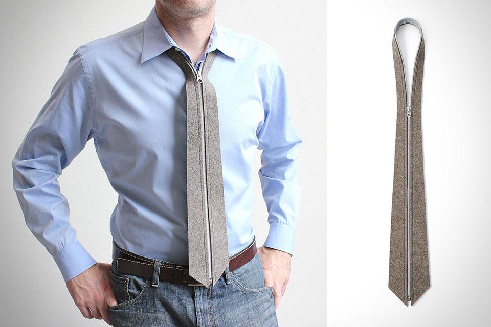 Галстук Zip Tie для ленивых