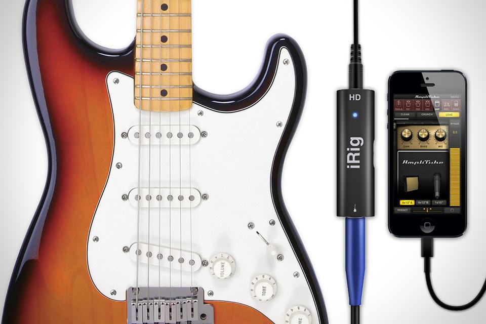 Цифровой интерфейс iRig HD для электрогитары
