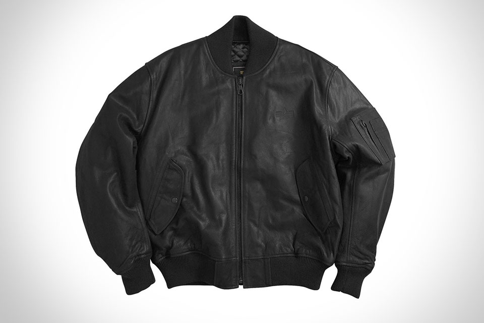 Настоящая куртка-пилот Alpha Industries MA-1