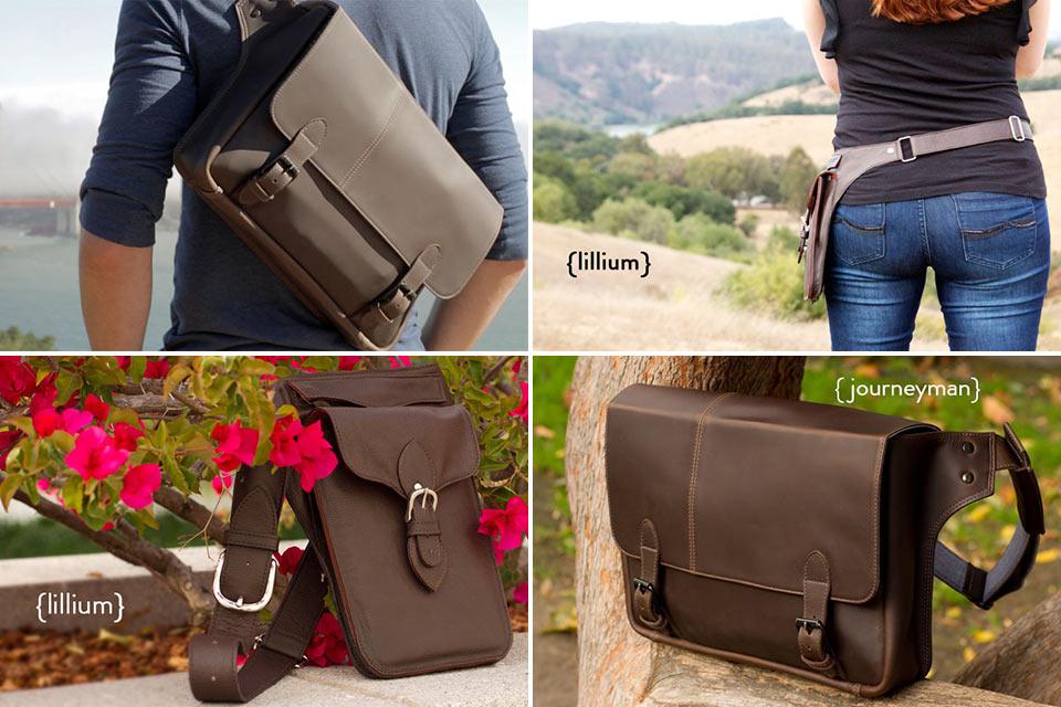 Кожаные сумки для путешественников Intrepid Bags