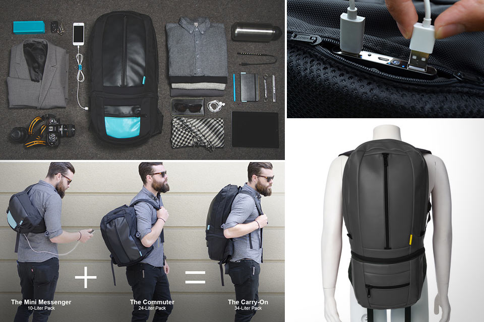 Модульный рюкзак SOOT Electropack с батарейкой