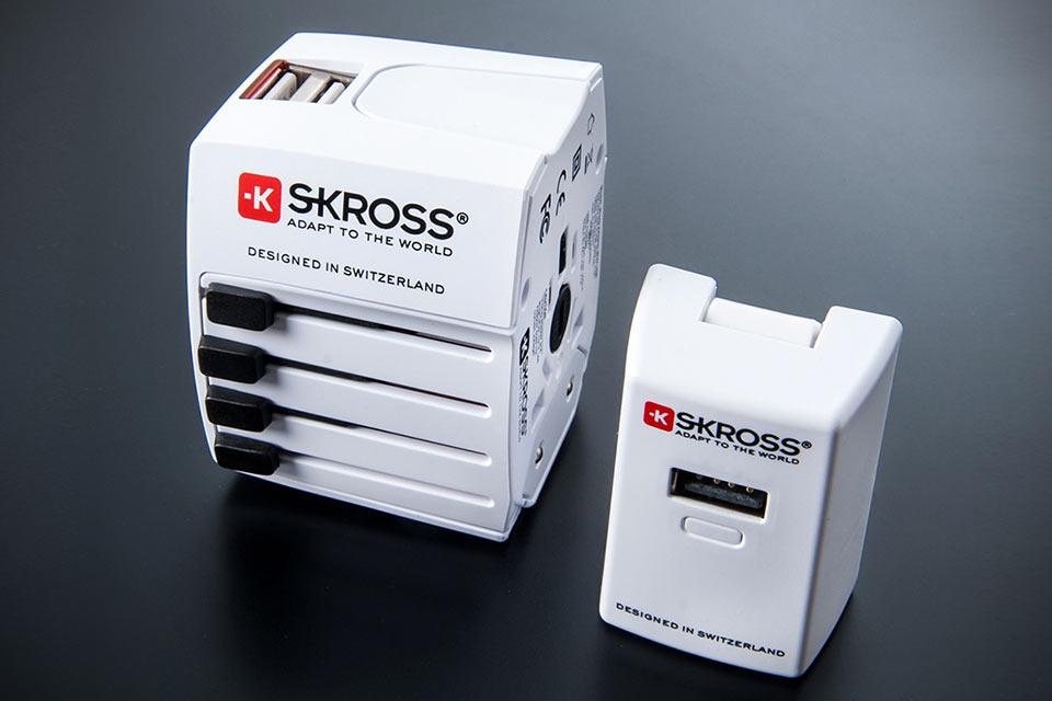 Мировые адаптеры для электросети Skross