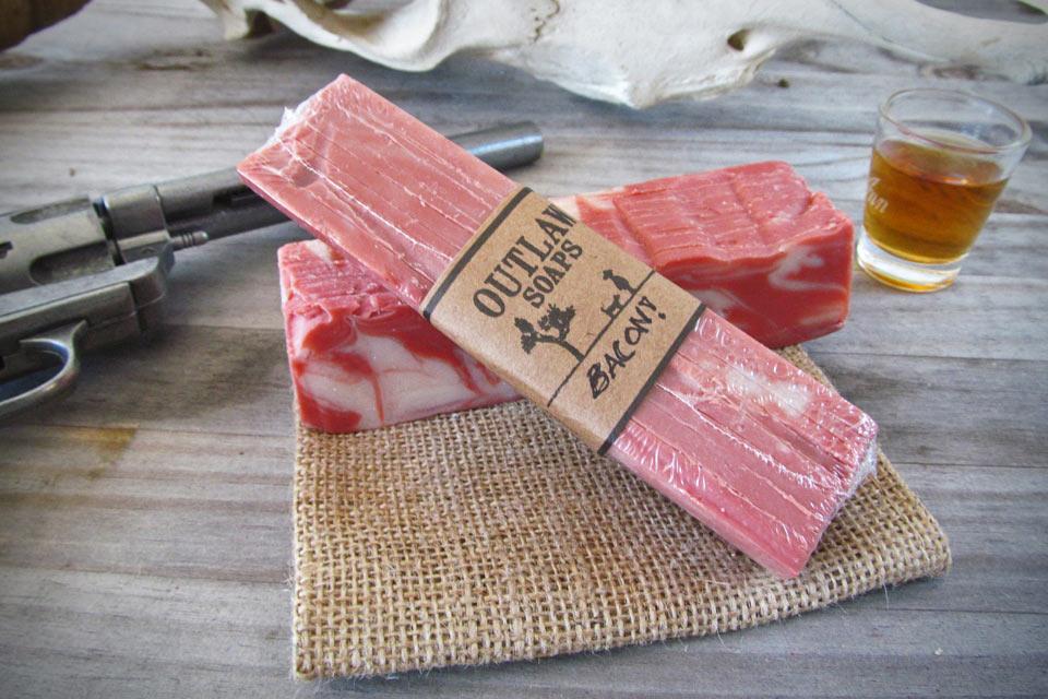 Мыло-бекон Bacon Soap