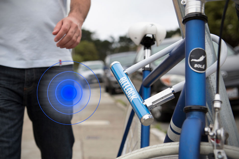 Электронный велозамок BitLock