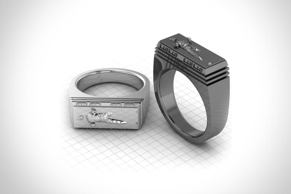 Кольцо Bounty Hunter Ring для космического охотника за головами
