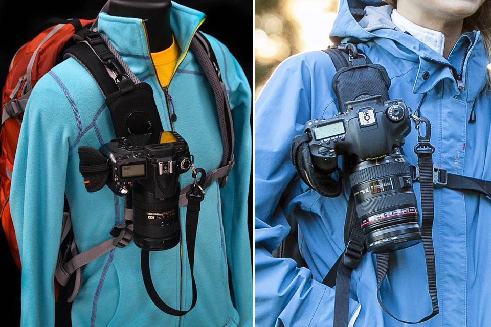 Лямочный фиксатор Cotton Carrier StrapShot для фотокамеры