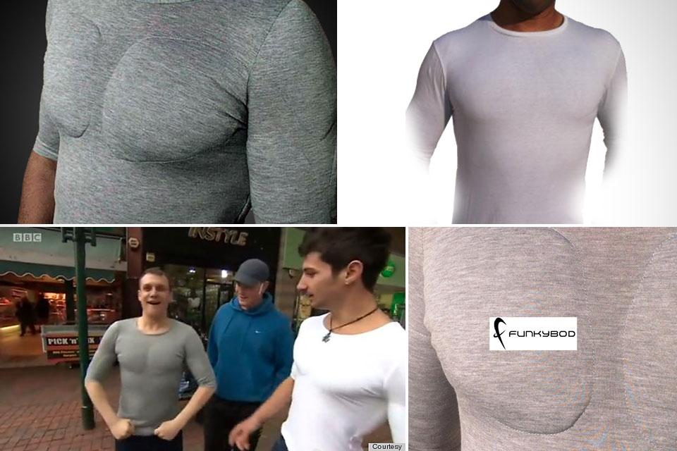 Превращающая из дрища в фитнесиста футболка Funkybod Muscle Top