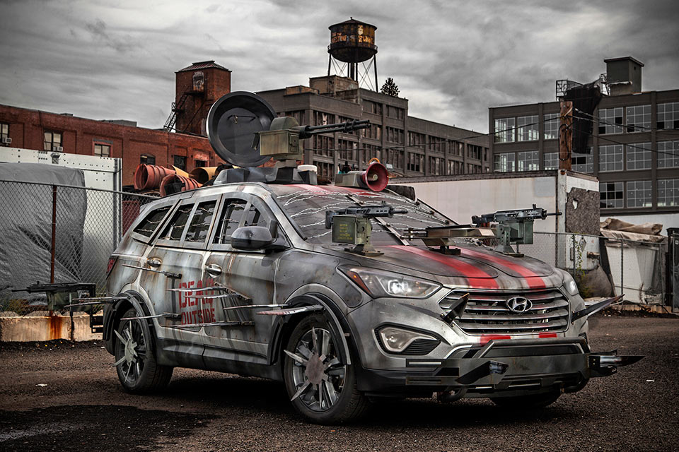 Hyundai Santa Fe Sport Survival Machine