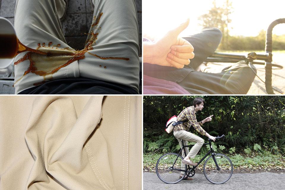 Не боящиеся грязи и кофе крепкие брюки Ledge